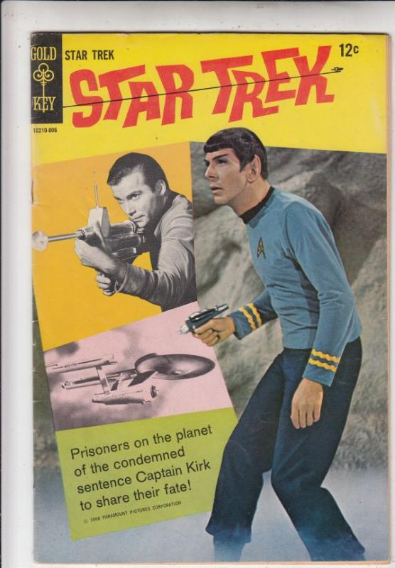 Star Trek #2 (Nov-67) VF+ High-Grade Captain Kirk, Mr Spock, Bones, Scotty