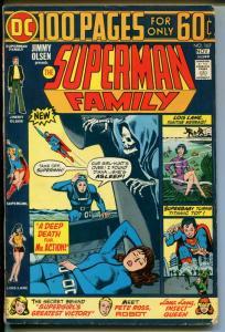 Superman Family #167 1974-DC Comics-Giant issue-Jimmy Olsen-Supergirl-FN