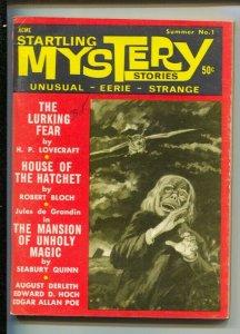 Startling Mystery Stories #1-Summer 1966-1st issue-H.P. Lovecraft-Robert Bloc...