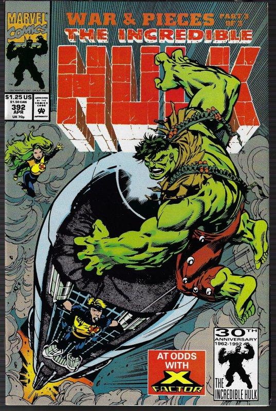 Incredible Hulk #392 (Marvel, 1988) NM-