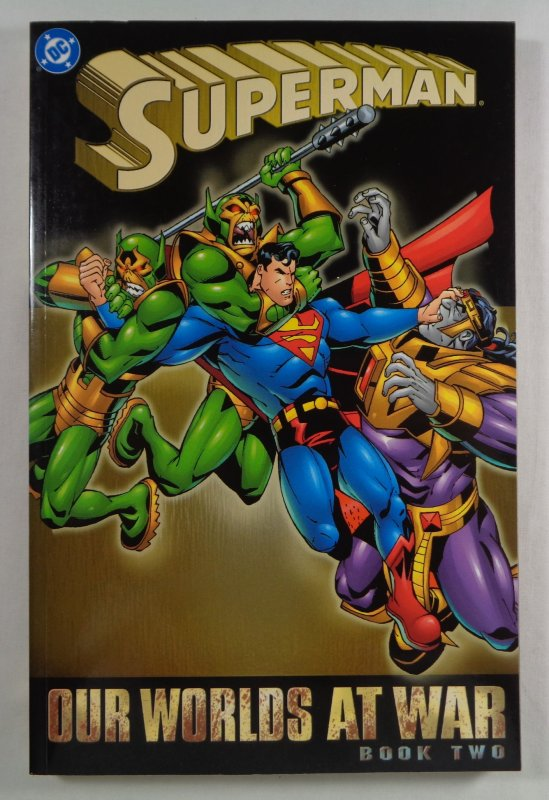 Superman Our Worlds At War Book Two 2 TPB DC