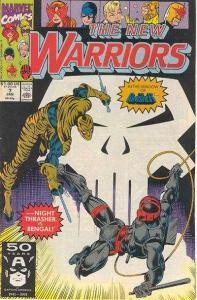 New Warriors (1990 series) #7, NM- (Stock photo)