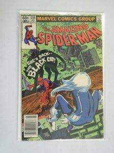 Amazing Spider-Man #226 feat. Black Cat Newsstand 5.0 VG FN (1982 1st Series)