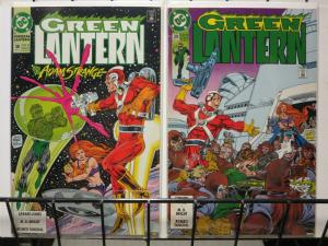 GREEN LANTERN (1990) 38-39 2-part ADAM STRANGE story!