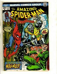 Amazing Spider-Man # 124 VG Marvel Comic Book Green Goblin Mary Jane GK3