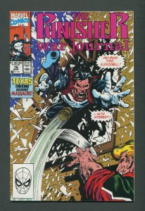 Punisher War Journal #16  / 9.4 NM /  March 1990
