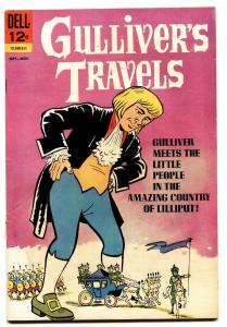GULLIVERS TRAVELS #1 comic book 1965-DELL-1ST ISSUE-ELUSIVE