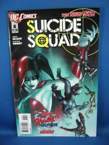 Lot 2 SUICIDE SQUAD 6 and 7 NM+ Origin Harley Quinn 2014