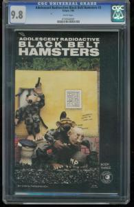 ADOLESCENT RADIOACTIVE BLACK BELT HAMSTERS #3- CGC 9.8 0155540007