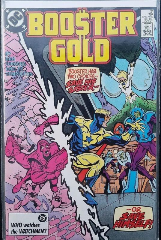BOOSTER GOLD #21, VF/NM, Templeton, DC, 1986 1987,  more in store