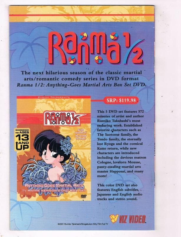 Ranma 1/2 #2 VF Viz Comics Modern Age Comic Book Jones Takahashi