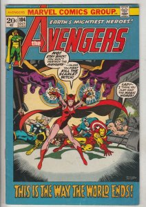 Avengers, The #104 (Oct-72) VF High-Grade Avengers