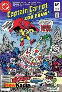 Captain Carrot and His Amazing Zoo Crew #5, VG (Stock photo)