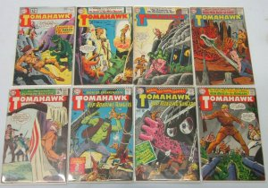 Tomahawk comic lot from:#78-137 19 difference 4.0 VG (1962-71)