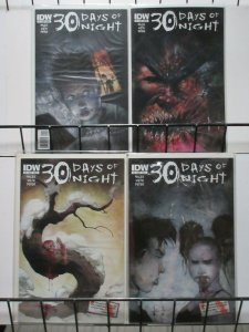 30 Days of Night (IDW v2 2011) #1-4 Cover B Set Steve Niles + Sam Keith
