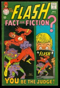 THE FLASH #179 1968-DC COMIC-FIRST EARTH PRIME-SCHWARTZ G