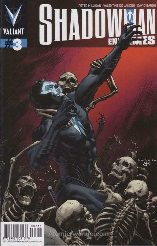 Shadowman: End Times #3 VF/NM; Valiant | save on shipping - details inside