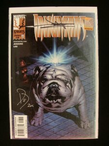 Marvel Knights Inhumans #8 Lockjaw Cover Signed by Paul Jenkins & Jae Lee