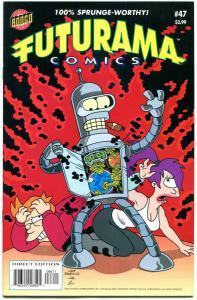 FUTURAMA #47, NM-, Bongo, Fry, Bender, Leela, Prof Farnsworth, Amy, Zoidberg