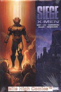 SIEGE: X-MEN HC (2010 Series) #1 Near Mint