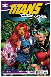 Titans Burning Rage #1 (DC, 2019) NM