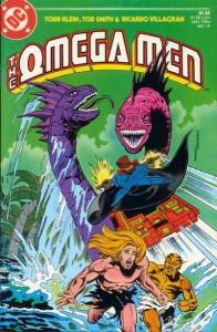 Omega Men (1982 series) #14, NM- (Stock photo)