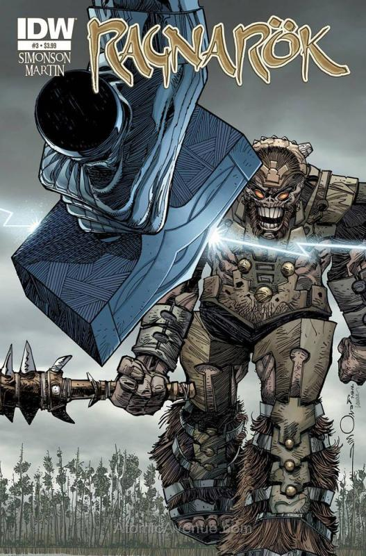 Ragnarok (IDW) #3 VF/NM; IDW | save on shipping - details inside