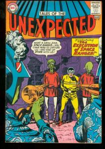 TALES OF THE UNEXPECTED #81 1964 EXECUTION-SPACE RANGER VF-