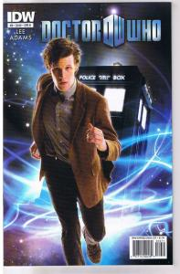 DOCTOR WHO #9 B, NM, Tardis, Amy, Time Lord, Sci-Fi, 2011, IDW, more DW in store