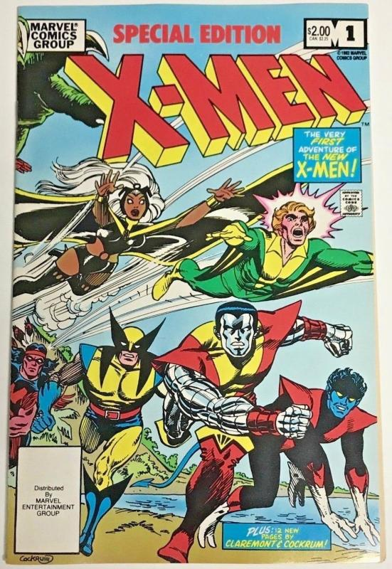 X-MEN SPECIAL EDITION#1 VF/NM 1982 MARVEL BRONZE AGE COMICS