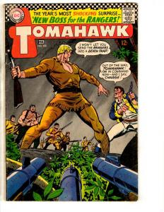 Tomahawk # 108 FN DC Silver Age Comic Book Boss For The Rangers Western  JL14