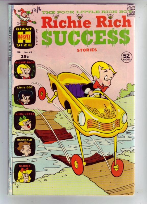 Richie Rich Success #48 (Feb-73) VF High-Grade Richie Rich
