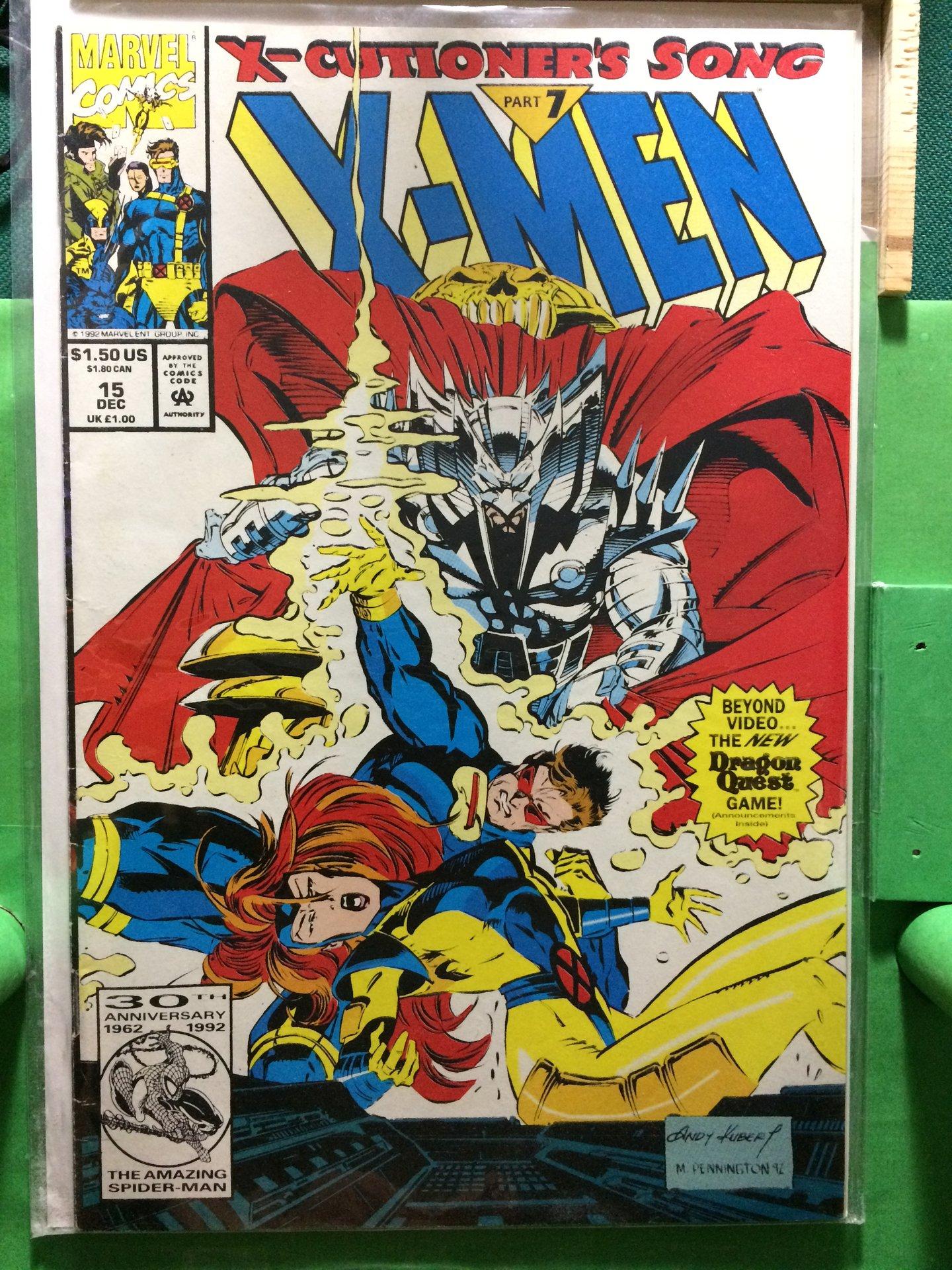 MEN   # 15 COMIC 1992-10 X