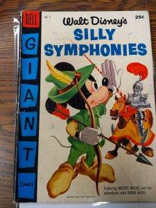 (1956) Walt Disney's Silly Symphonies #6 FN