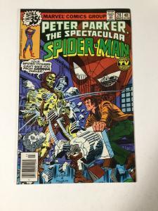 Spectacular Spider-man 28 Vg+ Very Good + 4.5 Marvel 1st Carrion