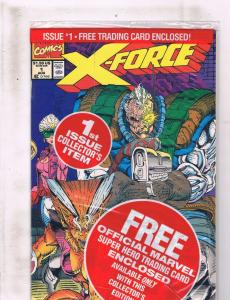 X-Force # 1 NM 1st Print Marvel Comic Book SEALED IN POLYBAG X-Men Cable ZZ5