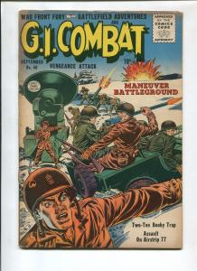 G.I. COMBAT #40 1956-QUALITY-KOREAN WAR-VG+