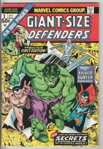 Giant-Size Defenders #1 (Jul-74) VF+ High-Grade Dr.Strange, Namor, Hulk, Silv...
