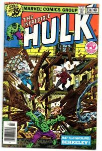 HULK #234, VG+, Incredible, Bruce Banner, Quasar, 1968 1979, Marvel