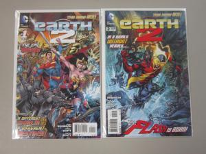 Earth 2 (2012 DC), SET:#1+2, 8.0/VF, DC New 52
