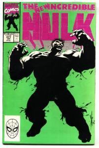 INCREDIBLE HULK #377 comic book  . 1st Professor Hulk Avengers