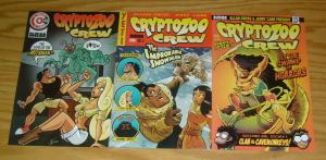 Cryptozoo Crew #1-3 VF/NM complete series - nbm - allan gross - jerry carr 2 set