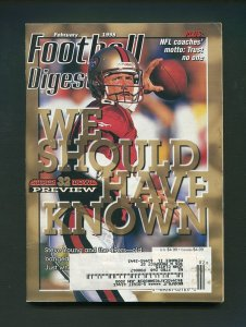 Football Digest / Steve Young / February 1998