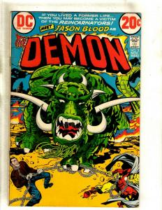 The Demon # 3 VF DC Comic Book Jack Kirby Bronze Age Etrigan Fourth World RS1