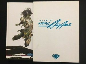 ART OF NEAL ADAMS LIMITED EDITION SIGNED HARDCOVER SLIPCASE OOP VANGUARD 2010