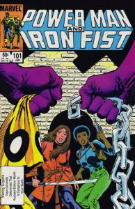 Power Man & Iron Fist #101 VF/NM; Marvel | save on shipping - details inside
