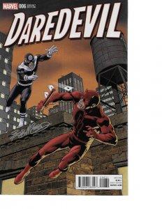 Daredevil #6 Bob McLeod 1:15 VARIANT signed by Bob McLoed NM