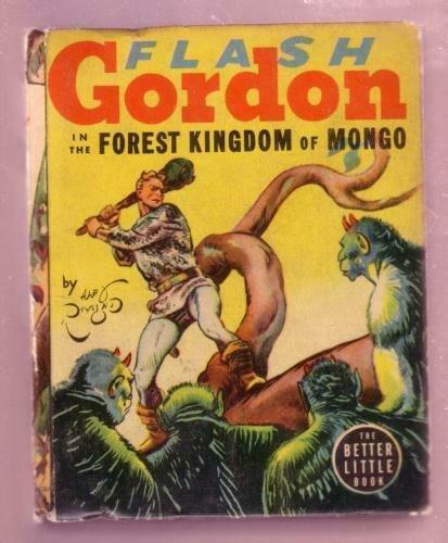 FLASH GORDON- FOREST KINGDOM OF MONGO 1938 #1492 - BLB FN
