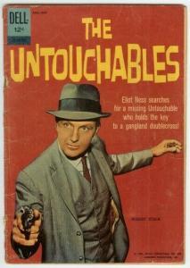 UNTOUCHABLES (1961-1962 DELL) 12 879 210 FR-G photo cov COMICS BOOK