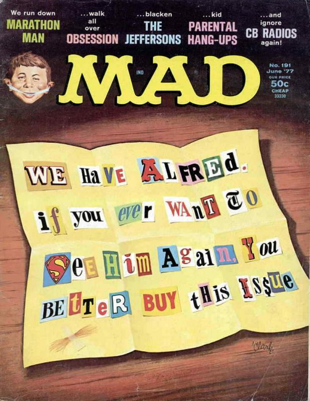 Mad #191 VG; E.C   low grade comic - save on shipping - details inside